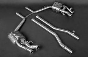 Выхлопная система Capristo Mercedes-Benz CLS63 AMG W218