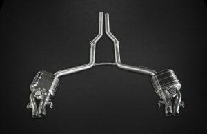 Выхлопная система Capristo Mercedes-Benz E63 AMG W212