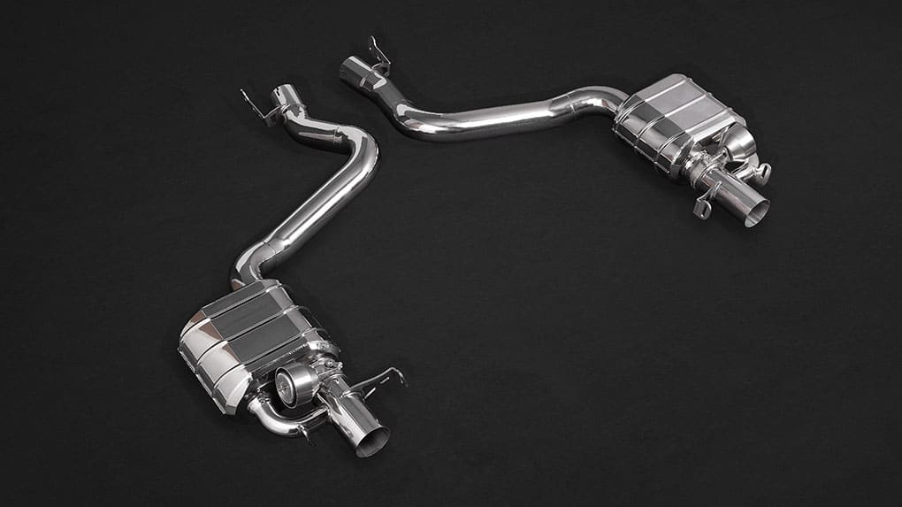 Выхлопная система Capristo Mercedes-Benz E63 AMG W213