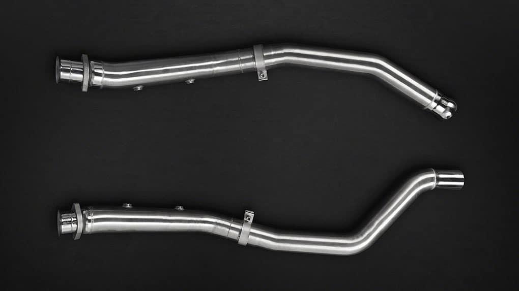 Выхлопная система Capristo Mercedes-Benz GLE63S AMG C292