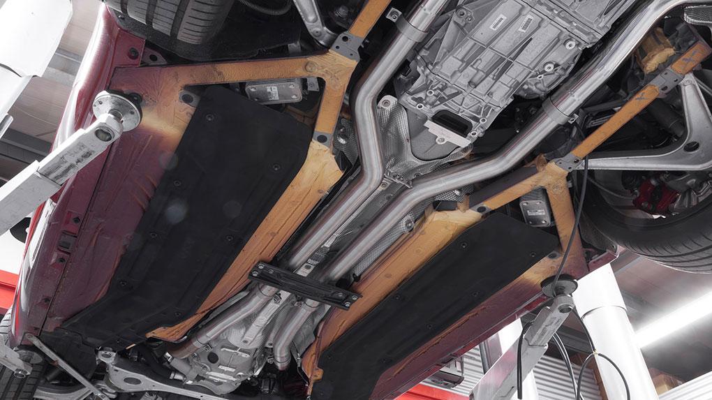 Выхлопная система Capristo Mercedes-Benz AMG GT/GTS
