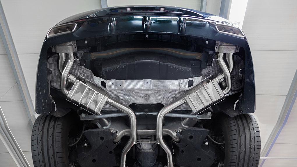 Выхлопная система Capristo Mercedes-Benz S500 C217 купэ и кабриолет