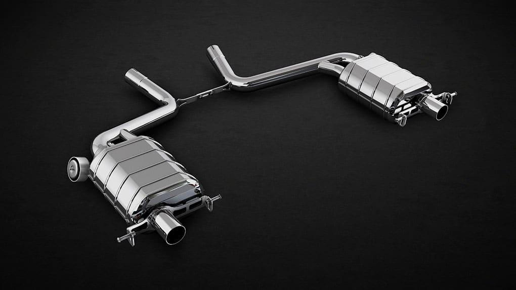 Выхлопная система Capristo Mercedes-Benz S500 W222