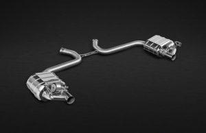 Выхлопная система Capristo Mercedes-Benz SL63 AMG R231