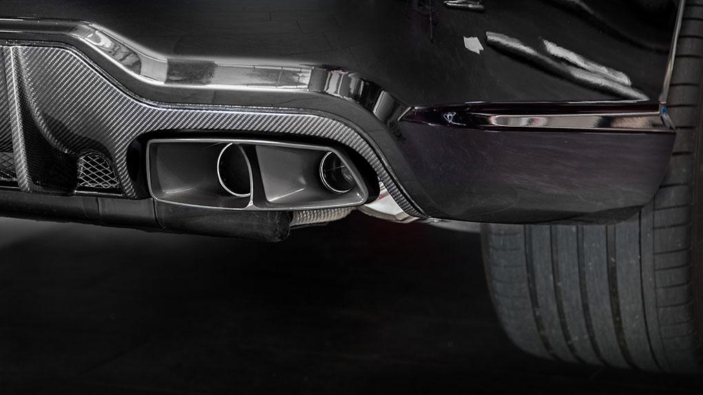 Выхлопная система Capristo Mercedes-Benz SL65 AMG R230