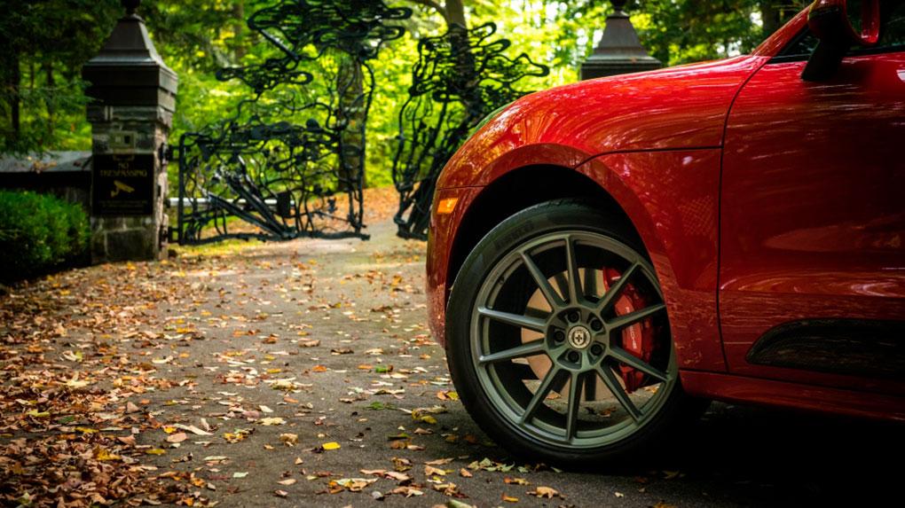 Моноблочные кованые диски HRE RS204M Porsche Macan