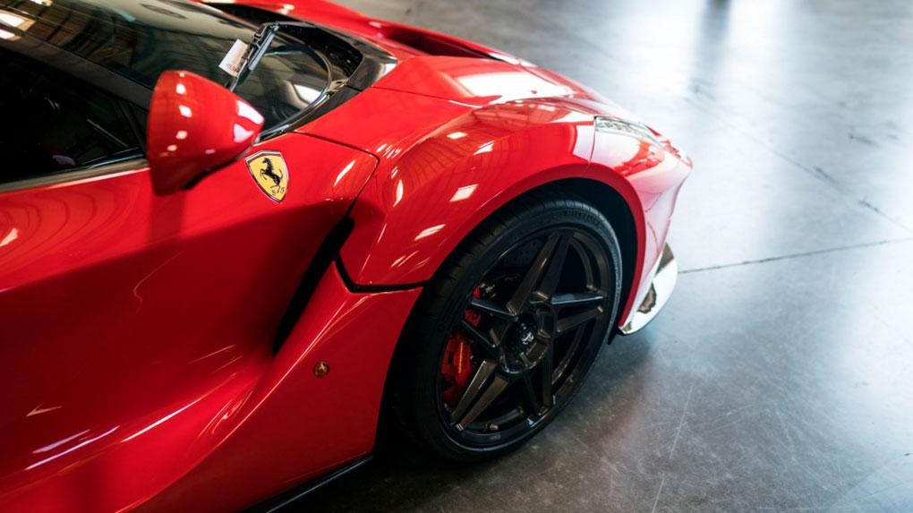 Моноблочные кованые диски HRE RS307M Ferrari LaFerrari
