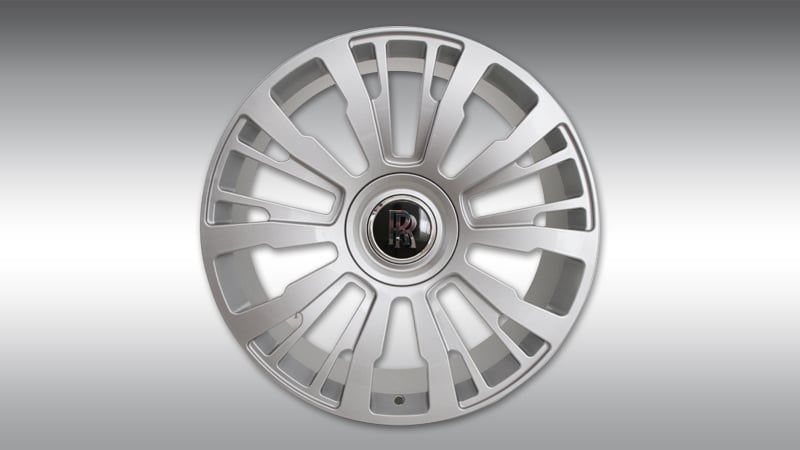 Novitec Rolls-Royce Dawn Overdose Wheels SP1 Silver