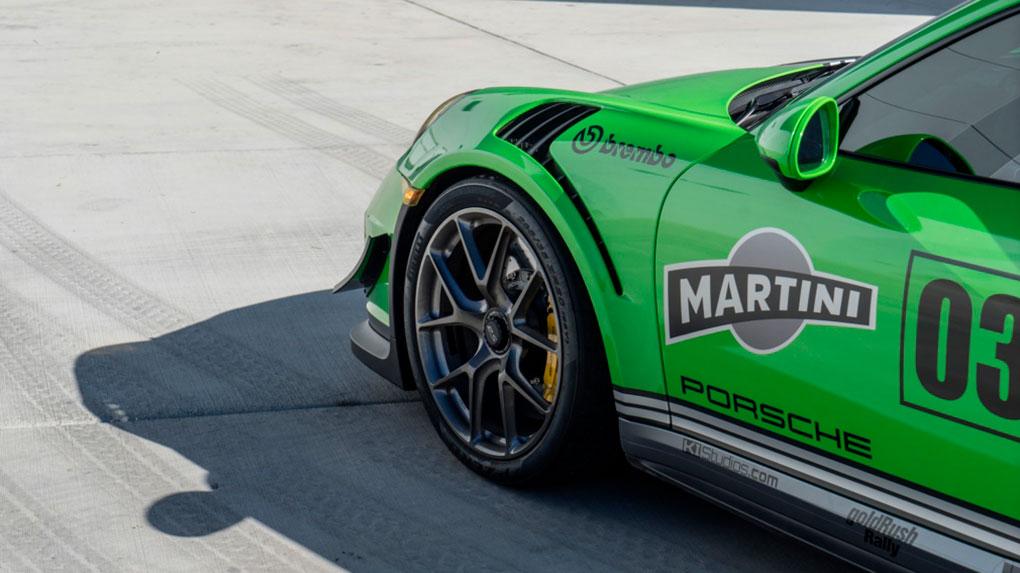 Односоставные моноблочные кованые диски HRE P101Porsche 991 GT3