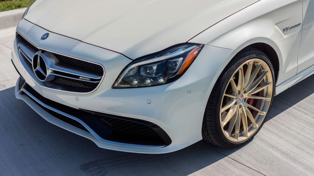 Односоставные моноблочные кованые диски HRE P103 для Mercedes Benz CLS 63 AMG