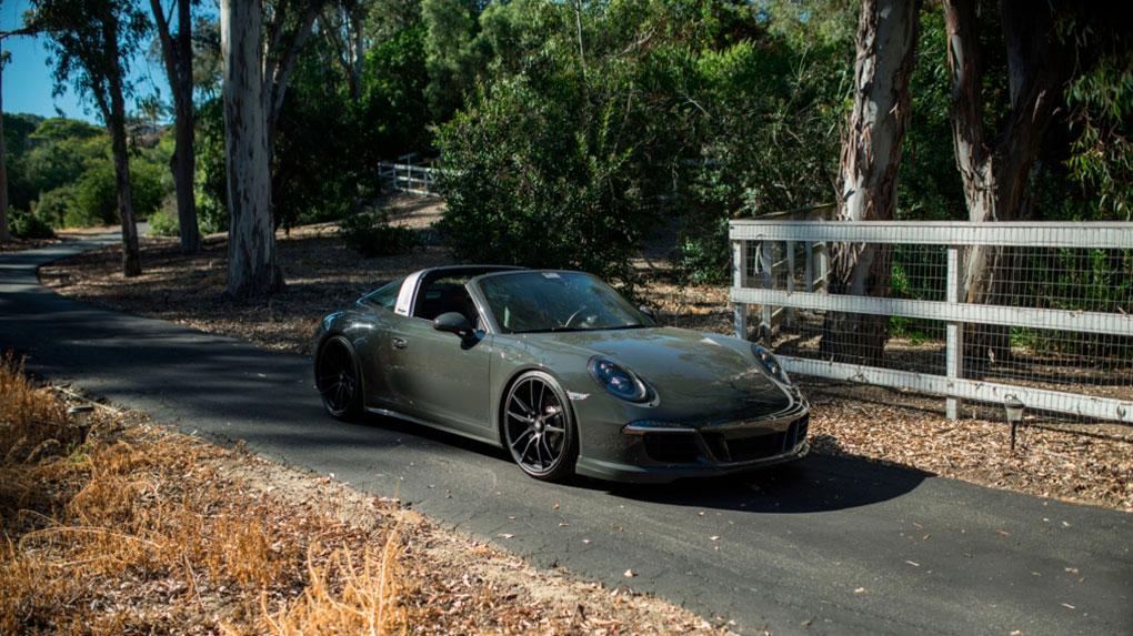 Односоставные моноблочные кованые диски HRE P104 для Porsche 9191 Targa