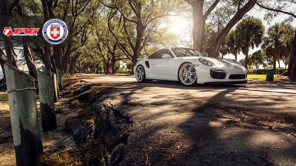 Односоставные моноблочные кованые диски HRE P106 для Porsche 991 Turbo