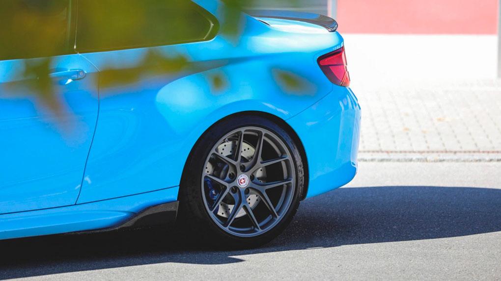 Моноблочные кованые диски HRE R101 BMW M4 F82