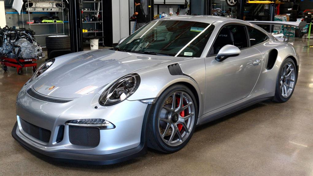 Моноблочные кованые диски HRE R101 Porsche 991 GT3RS