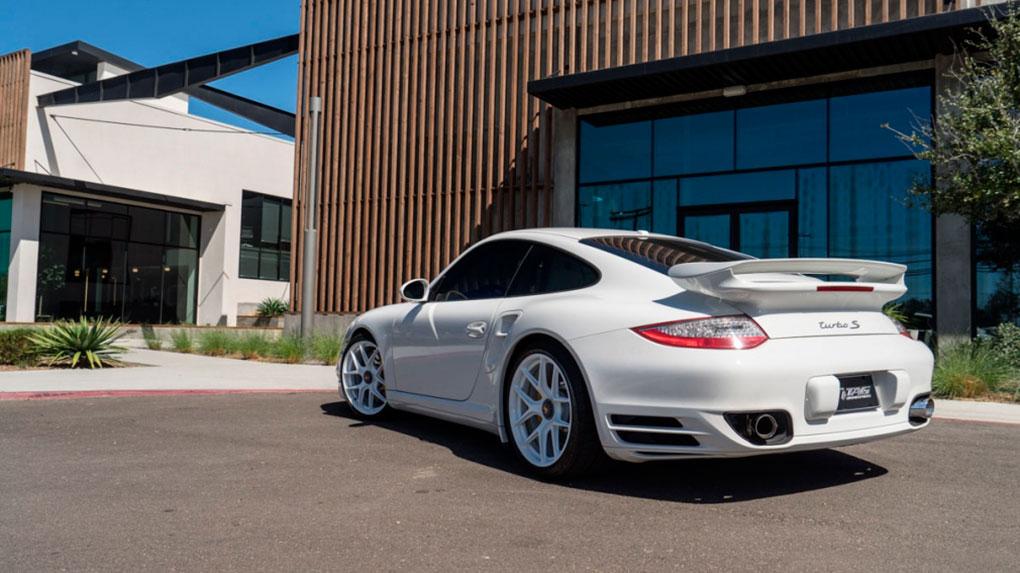 Моноблочные кованые диски HRE R101 Porsche 997 Turbo S