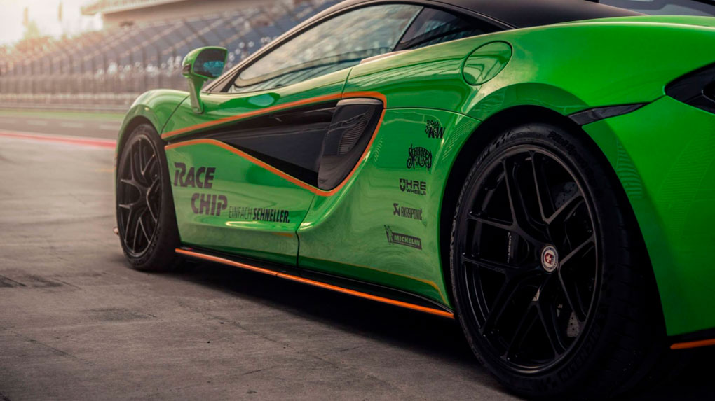 Моноблочные кованые диски HRE R101 lightweight McLaren 570S