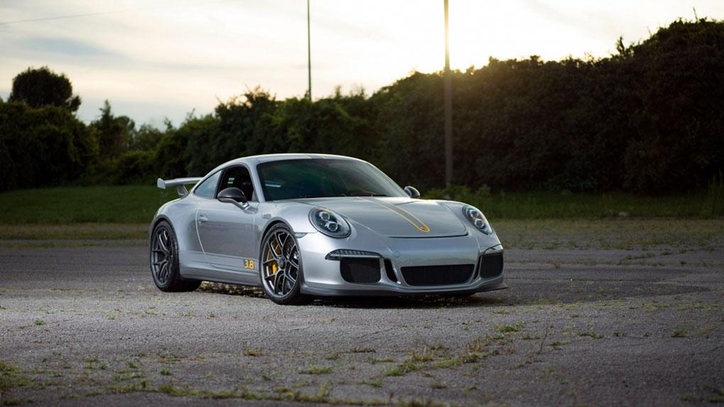 Моноблочные кованые диски HRE R101 lightweight Porsche 991 GT3 3.8