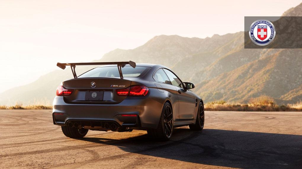 Моноблочные кованые диски HRE R101 lightweight BMW M4 GTS F82