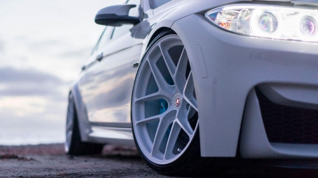 Моноблочные кованые диски HRE R101 lightweight BMW M4 F82
