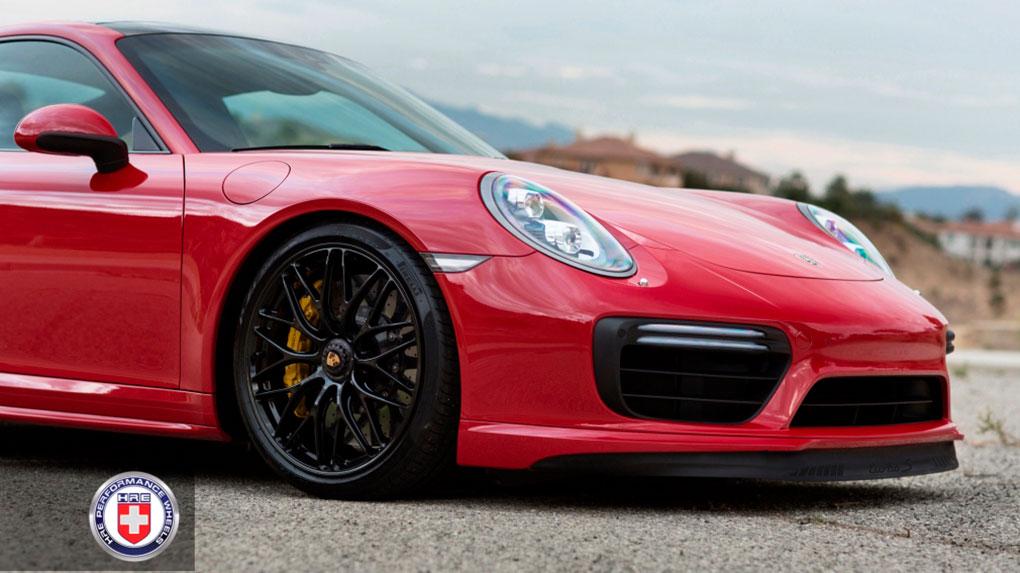 Моноблочные кованые диски HRE RC100 для Porsche 991 Turbo S