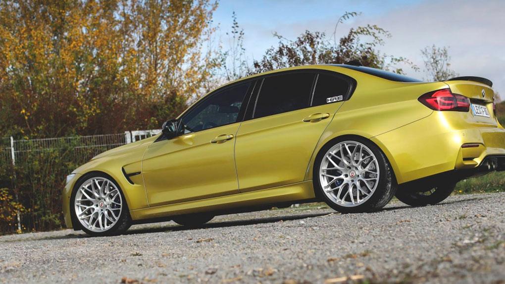 Моноблочные кованые диски HRE RC100 для BMW M3 F80