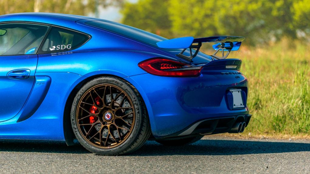 Моноблочные кованые диски HRE RC100 для Porsche Cayman GT4