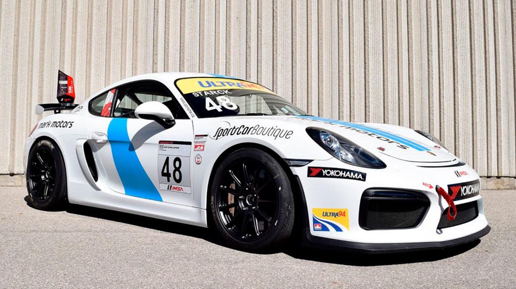 Моноблочные кованые диски HRE RC103 для Porsche Cayman GT4
