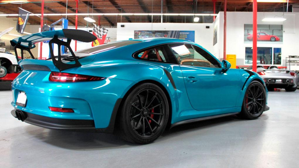 Моноблочные кованые диски HRE RC103 для Porsche 991 GT3RS