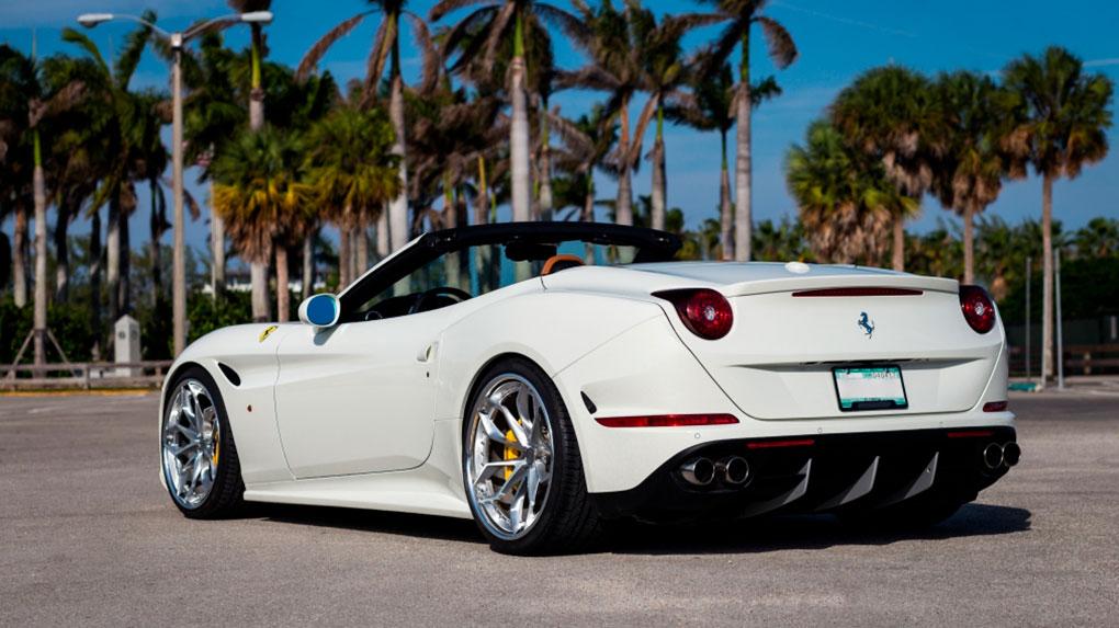Трехсоставные кованые диски HRE S201 для Ferrari California T