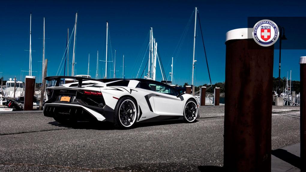 Трехсоставные кованые диски HRE S201 для Lamborghini Aventador LP750-4 SV