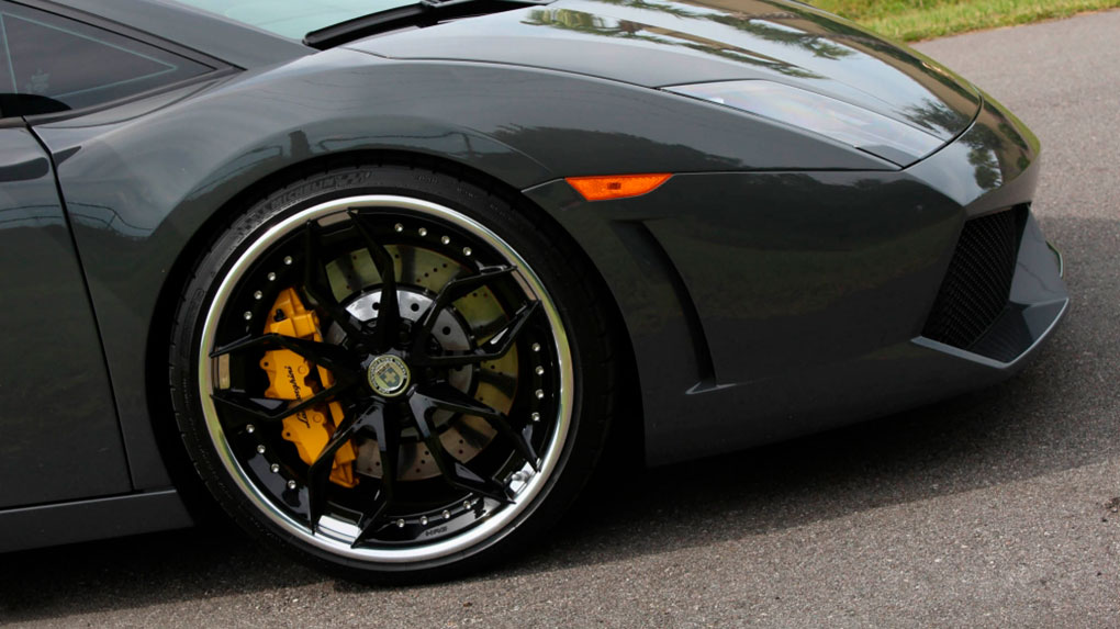 Трехсоставные кованые диски HRE S201 для Lamborghini Gallardo LP550