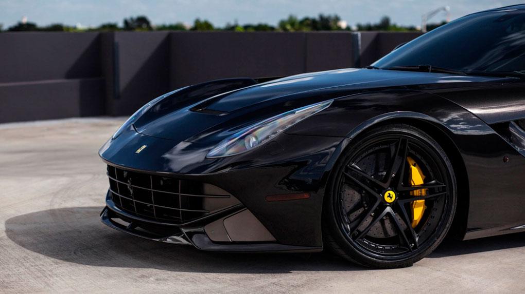 Трехсоставные кованые диски HRE S207 для Ferrari F12 Berlinetta
