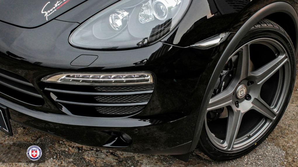 Моноблочные кованые диски HRE TR105 Porsche Cayenne 958