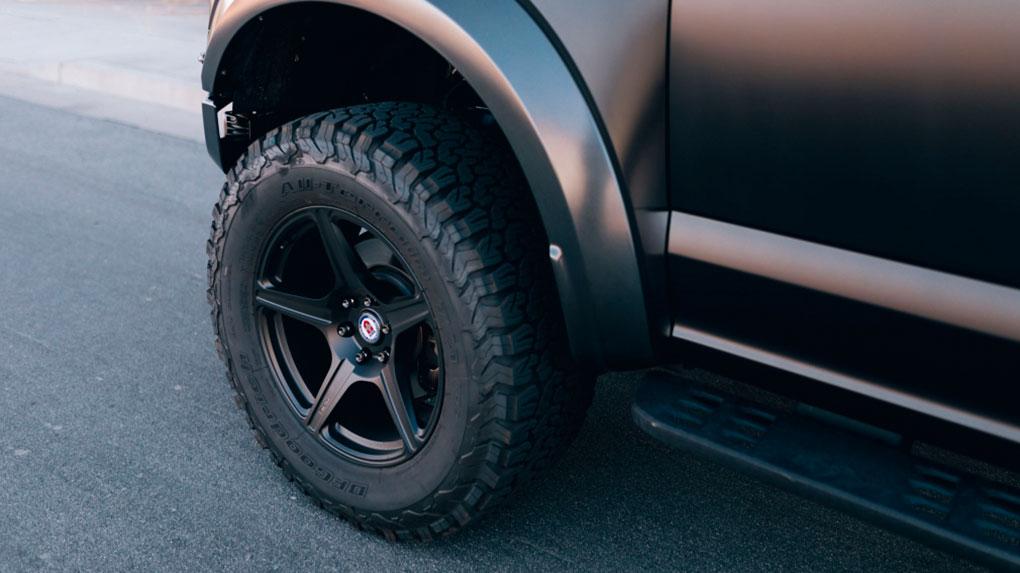 Моноблочные кованые диски HRE TR105 Ford Raptor