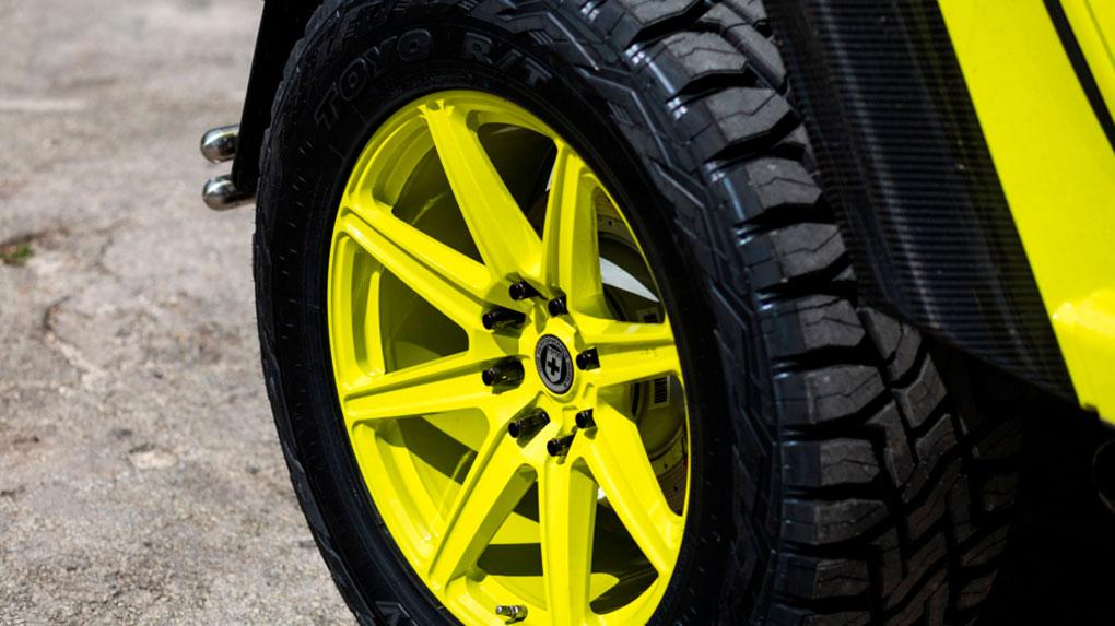 Моноблочные кованые диски HRE TR188 Mercedes Benz G500 4x4