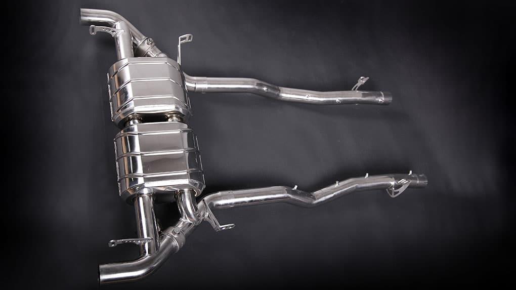 Выхлопная система Capristo Aston Martin DB9