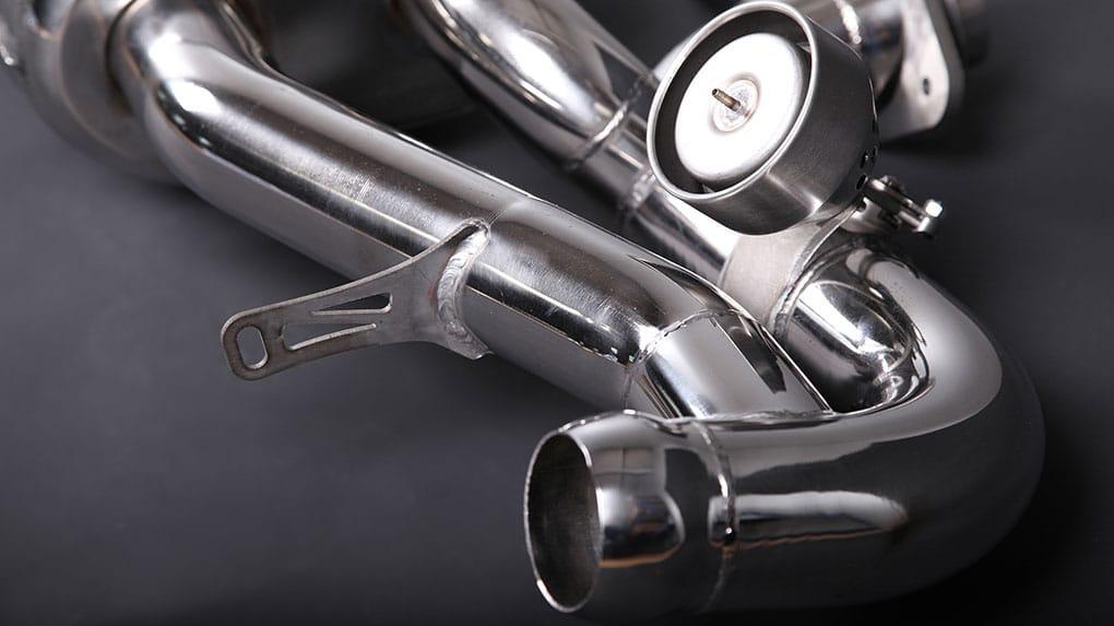 Выхлопная система Capristo Aston Martin Vantage V8