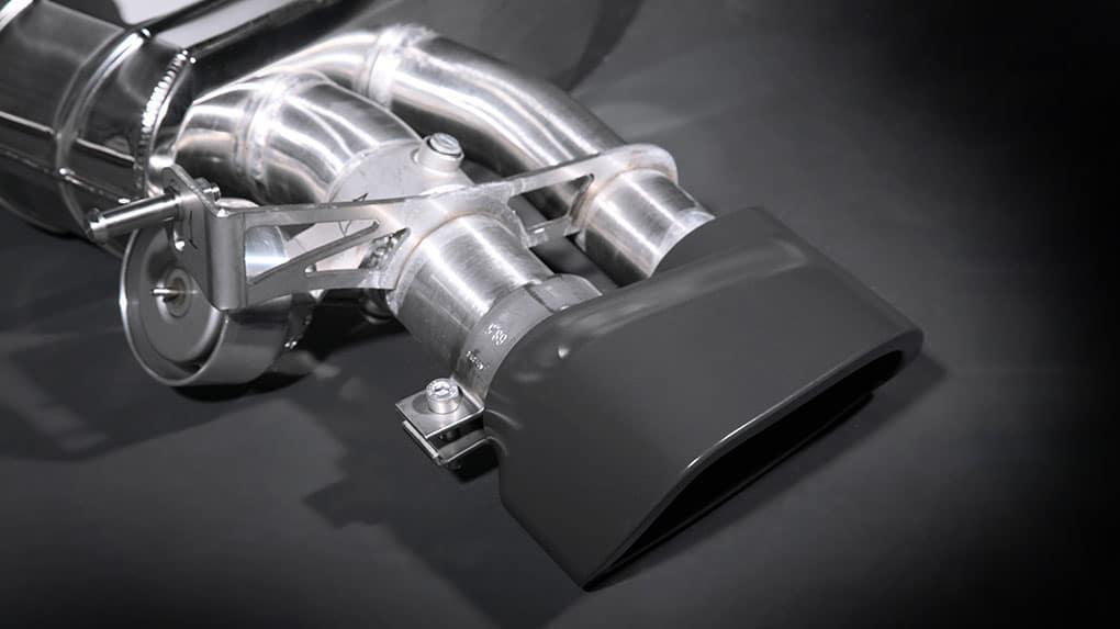 Выхлопная система Capristo AUDI RS4 B7