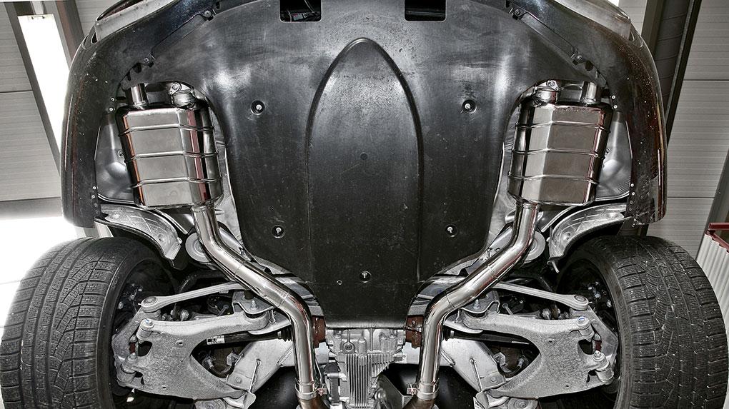 Выхлопная система Capristo Bentley Continental GTC W12