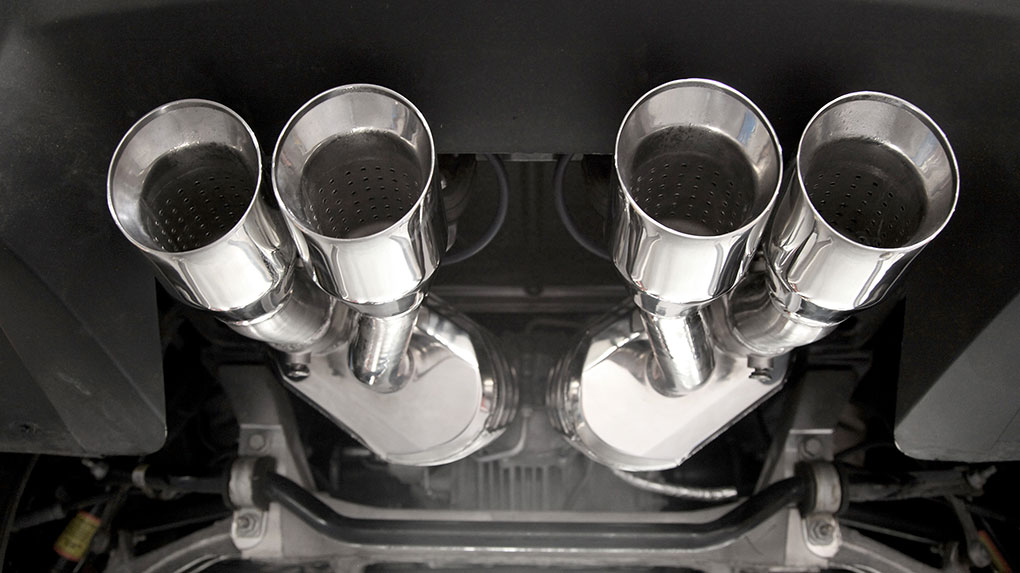 Выхлопная система Capristo Chevrolet Corvette C6 Z06