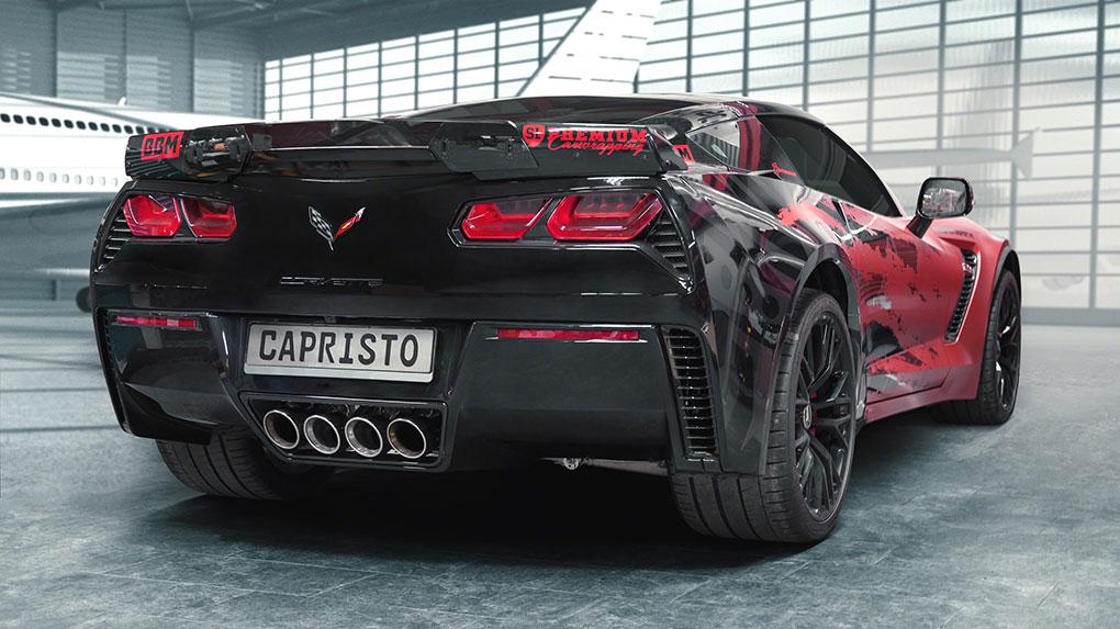 Выхлопная система Capristo Chevrolet Corvette C7 Z06