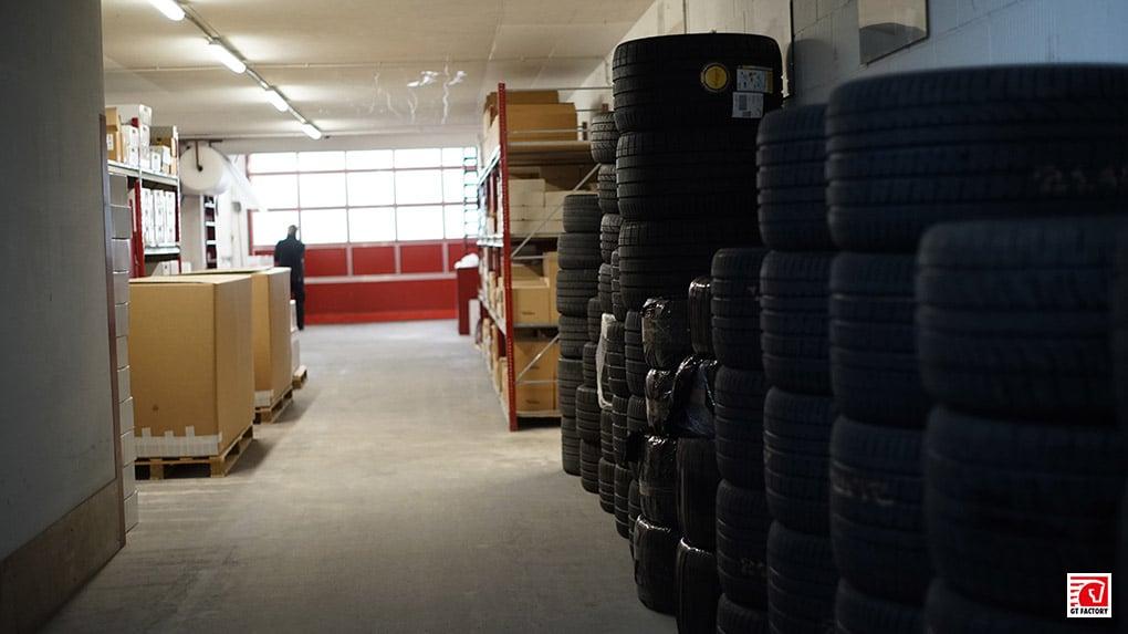 gtfactory посетили novitec в Штеттене складские помещения