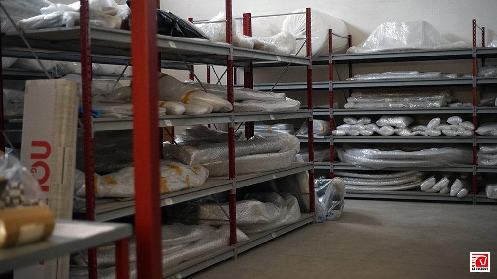 gtfactory посетили novitec в Штеттене склад