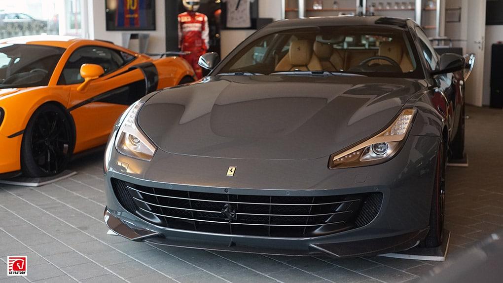 gtfactory посетили novitec в Штеттене главный шоурум Ferrari GTC4 Lusso V12 Novitec Rosso