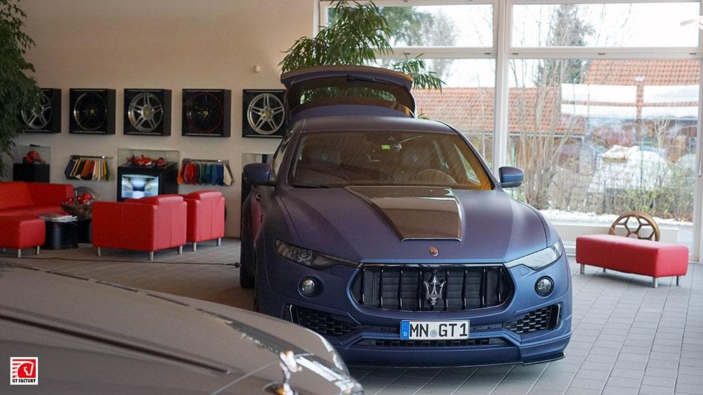 gtfactory посетили novitec в Штеттене главный шоурум Maserati Levante Esteso