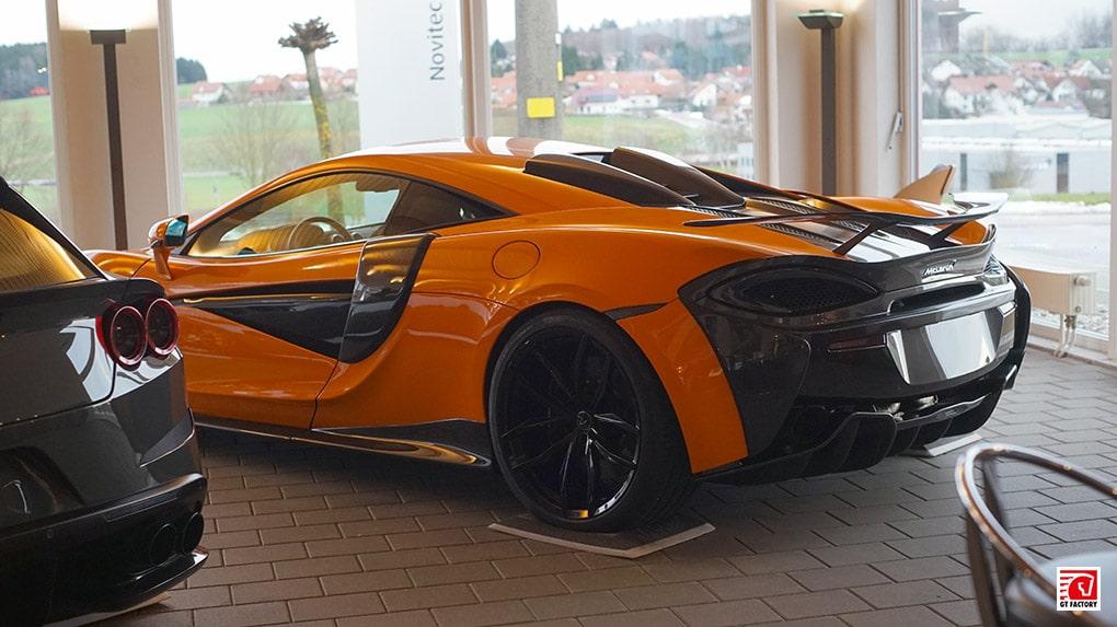 gtfactory посетили novitec в Штеттене главный шоурум McLaren 570S