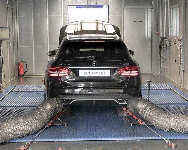 Performmaster чиптюнинг Mercedes-Benz AMG замер результата