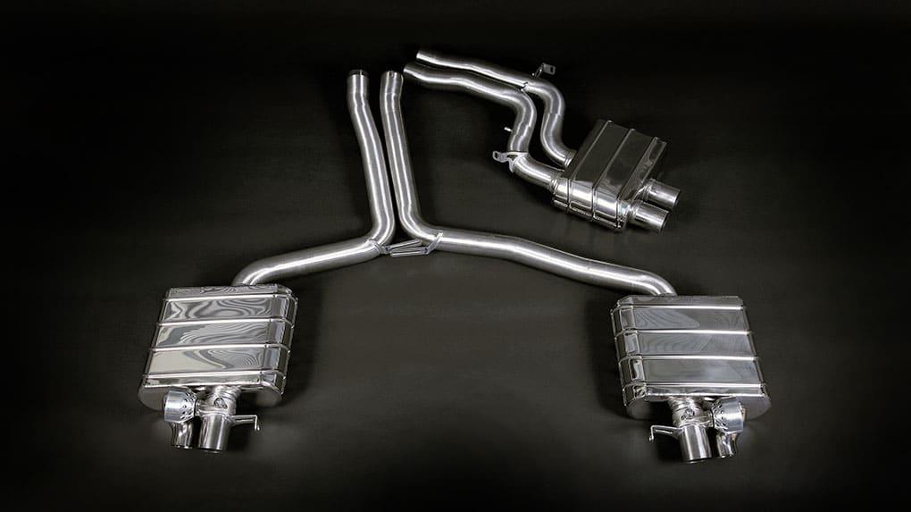 Capristo Audi RS4 B8 выхлопная система