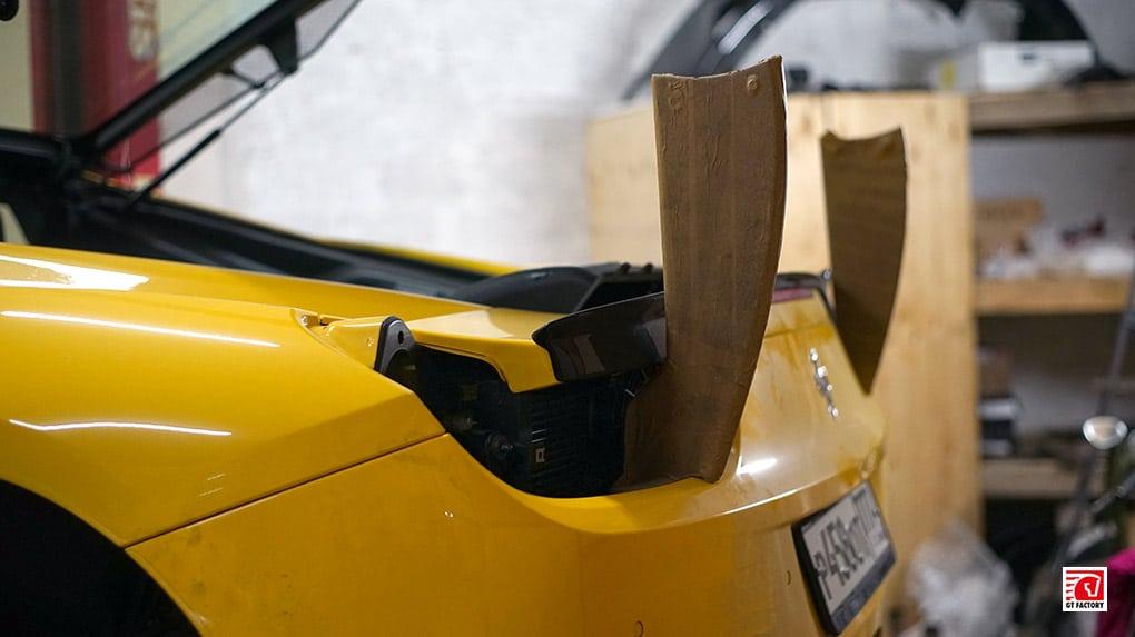 Bamd Ferrari 458 Italia installation process