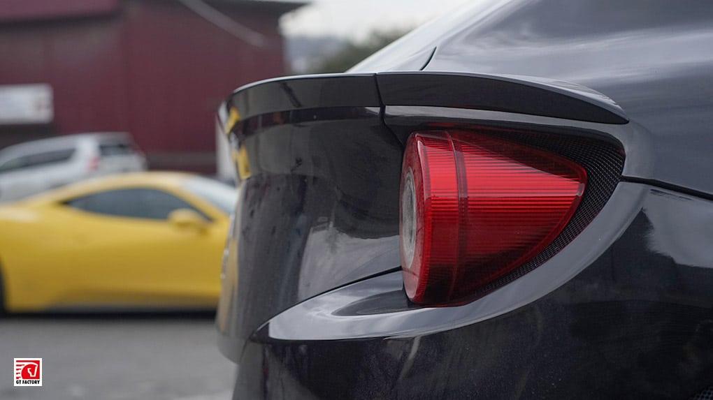 GTFactory Novitec Rosso Ferrari lip spoiler
